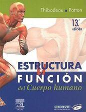 Estructura y función del cuerpo humano (CD-ROM + evolve), 13e (Spanish Edition),