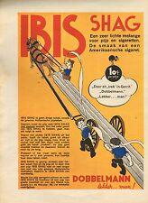RECLAME VOOR IBIS SHAG 01 - KEES MEYS/WEEKBLAD PANORAMA 1935