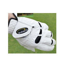 INTECH CABRETTA LEATHER GOLF GLOVES 3 PK SMALL FOR RIGHT HAND GOLFERS FREE SH