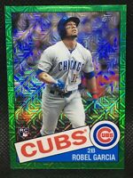#/99! 🚨2020 Topps Chrome Silver Pack Robel Garcia RC Green Parallel Cubs #47