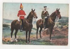 Troopers 1st Kings Dragoon Guards British Military 1906 Postcard Us080