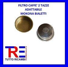 FILTRO CAFFE' 2 TAZZE ADATTABILE MOKONA BIALETTI