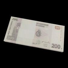 Lot 100 PCS,  Bundle, Congo 200 Francs, 2007, P-99, banknotes, UNC