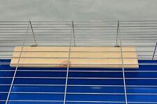 Pine Shelf-Platform Parrot-Chinchilla-Chipmunk-Degu-Gerbil-Guinea-Pig-Hams-Rat
