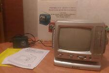 Televisore portatile MAJESTIC TV 2001 bianco nero b/w radio