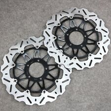 New Floating Front Brake Disc Rotors Fit For Ducati 749 848 998 999 Monster 1100