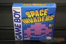 Space Invaders First Print (Game Boy, 1994) H-SEAM SEALED! - EXCELLENT! - RARE!