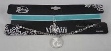 New Disney The Little Mermaid Ariel Velvet Choker & Necklace Set