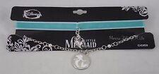 New Disney The Little Mermaid Ariel Velvet Choker & Necklace Set