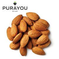 Almonds Whole Premium Quality Raw Natural - 125g, 250g, 500g, 750g, 1kg