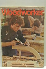 Woodworker Magazine. July, 1976. Volume 80, number 992. Ebony Ivory Walking Stic