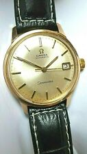 OMEGA SEAMASTER AUTOMATIC CAL 565 VTG 1966 WATCH, MAN, DATE, ST-ST G/P 40 MICRAS