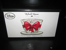 Disney D23 Minnie Mouse signature collection Tea Cup & Saucer set