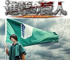 Attack on Titan Shingeki no Kyojin Flagge Flag Fahne Aufklärungstrupp 90x60cm