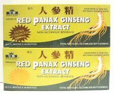 2 Box Royal King Red Panax Ginseng Extract 30 Bottle/Box Extra Strength 6000mg