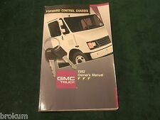 1992 GMC TRUCK FORWARD CONTROL CHASSIS OWNERS MANUAL (NF)