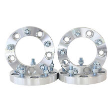 "4 5X5.5 (5x139.7) 1"" Wheel Spacers Adapter 1/2""X20 Jeep Ford Dodge WS 5X5.5 1.0"