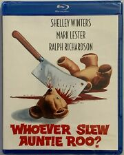 NEW WHOEVER SLEW AUNTIE ROO? BLU RAY KINO LORBER FREE WORLD WIDE SHIPPING BUY IT