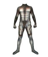 Predator 3D Print Jumpsuit Cosplay Costume Adult Men Zentai Bodysuit Halloween
