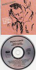CD 12T PAOLO CONTE PAROLE D'AMORE SCRITTE A MACCHINA DE 1990 TBE