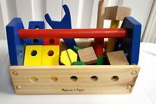 Melissa & Doug Wooden Take Along Took Kit - 24 pieces