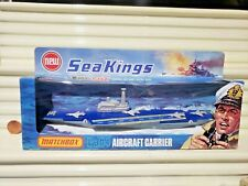 Rare Lesney Matchbox 1975 Sea Kings #36 K-304 Aircraft Carrier New in Box