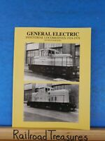 General Electric industrial Locomotives 1924-1978 300 photographs by O.M. Kerr