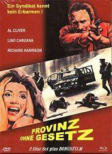 PROVINCIA VIOLENTA - Mediabook - Blu Ray & Dvd + Bonus Movie -