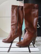 True Vintage Stiefel Leder Lederstiefel Boho 70er Weitschaft