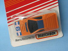 Matchbox Super GT Alfa Carabo Orange Body UK Toy Model Concept Car 6 Tampo