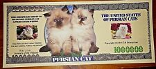 Nouvelle annonce Cats & Kittens Novelty Bank Note Funny Xmas Stocking Filler Gift Lucky Thank You