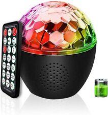 LED Discokugel Musikgesteuert Discolicht Lichteffekte Disco Partylicht für Xmas