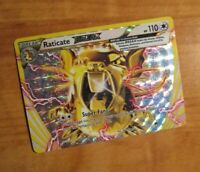 NM Pokemon RATICATE BREAK Card BREAKPOINT Set 89/122 XY X and Y Ultra Rare Holo