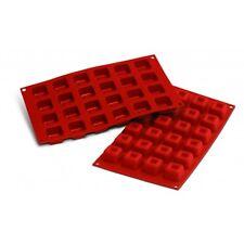 Moule silicone 24 savarins carrés