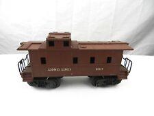 LIONEL LINES #6017 CABOOSE CAR TRAIN Brown RAILROAD Railway