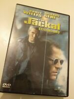 Dvd  THE JACKAL (CHACAL )con bruce willis y richard gere