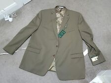 RALPH LAUREN MEN'S SOLID TAN JACKET, 54L, 100% GENUINE/ AUTHENTIC. 001