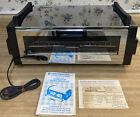 Vintage TOASTMASTER Toaster Oven Broiler Reversible - Model 5233-1 - Chrome photo