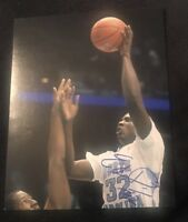 ED DAVIS SIGNED 8X10 PHOTO UNC NORTH CAROLINA NCAA NBA B W/COA+PROOF RARE WOW