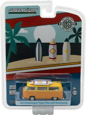 Greenlight Hobby Esclusivo 1:64 1971 VW Volkswagen T2 Van con Tavole da Surf
