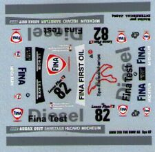 decal 1/43  BMW 318 TDS UFFICIALE BMW 24h SPA 1987 INTERDECAL JA0984