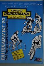 BRÜGELMANN catalogue 1990, vintage, collector, Campagnolo, Cinelli, Colnago Look