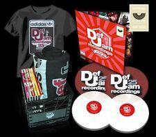 Def Jam 25th Anniversary 5CD Crate+Serato Control Records Clear Vinyl Set Rare!