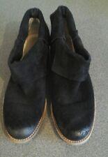 Botas De Gamuza Negra Michael Kors,, Reino Unido 7. 5, raspaduras para Dedos & Talón que se muestra