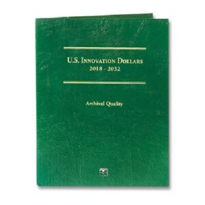 Coin Folder For 2018-2032 US Innovation Dollars Coin Quality LCF50 By Littleton