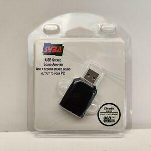 Syba CM119 Multimedia USB 2.0 Full-Speed External Stereo Headphone & Mic Jack