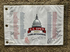 RORY MCILROY++Signed 2011 US Open Special Edition Flag