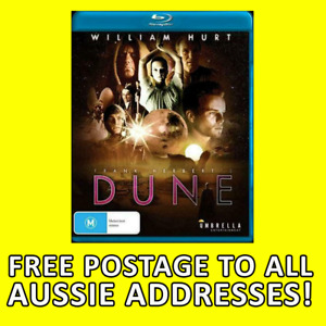 DUNE MINISERIES BLURAY BLU RAY SEALED not DVD  William Hurt Frank Herbert NEW