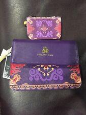 NWT Disney Loungefly Aladdin Magic Carpet Crossbody Handbag Purse & ID wallet