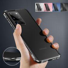 For Samsung S20 Plus/Ultra Slim Strong Shockproof Metal Bumper Frame Case Cover